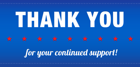 GTSC Thanks our Recent Supporters! - GTS CoalitionGTS Coalition